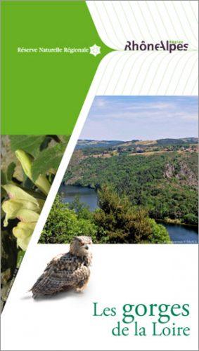 Plaquette Reserve Gorges Loire 2014