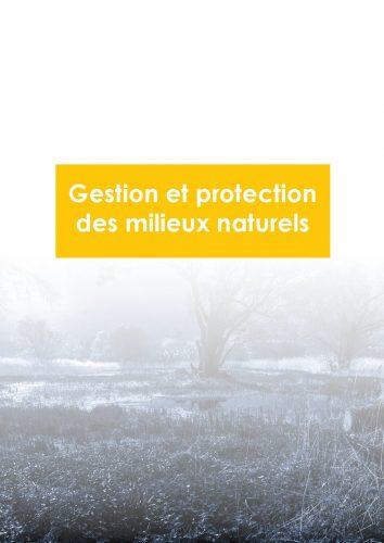 gestion et protection des milieux naturels