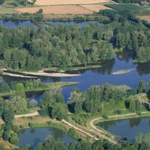 LA Loire dans la plaine du Forez