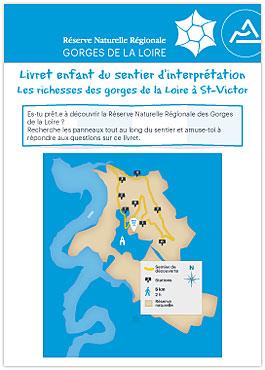 Livret du sentier pédagogique nord de la Réserve Naturelle Régionale des gorges de la Loire