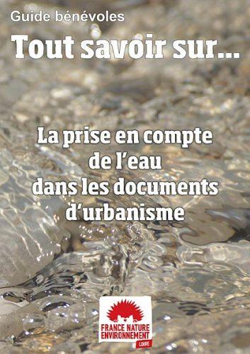 Guide Benevole Prise En Compte Eau Documents Urbanisme