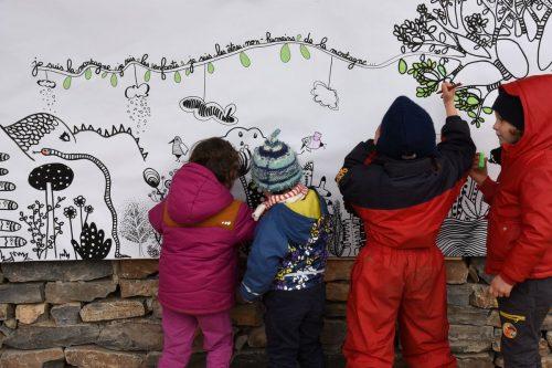 Fresque des enfants