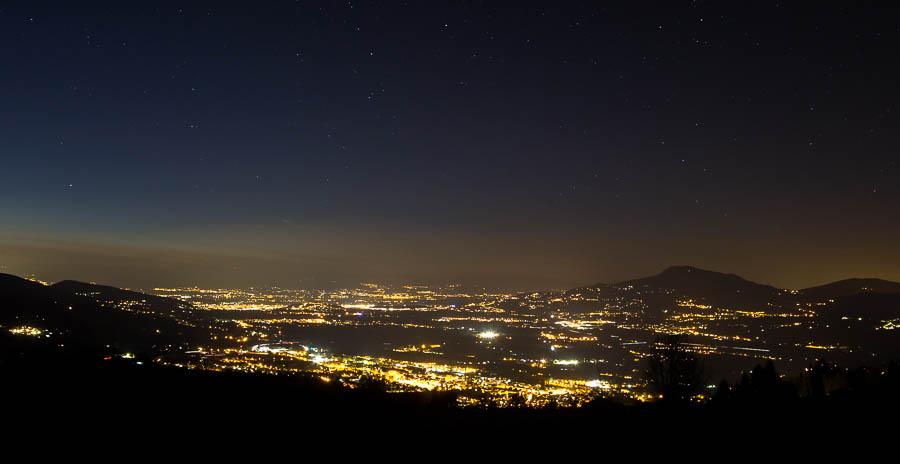 Pollution lumineuse vallée de l'Arve